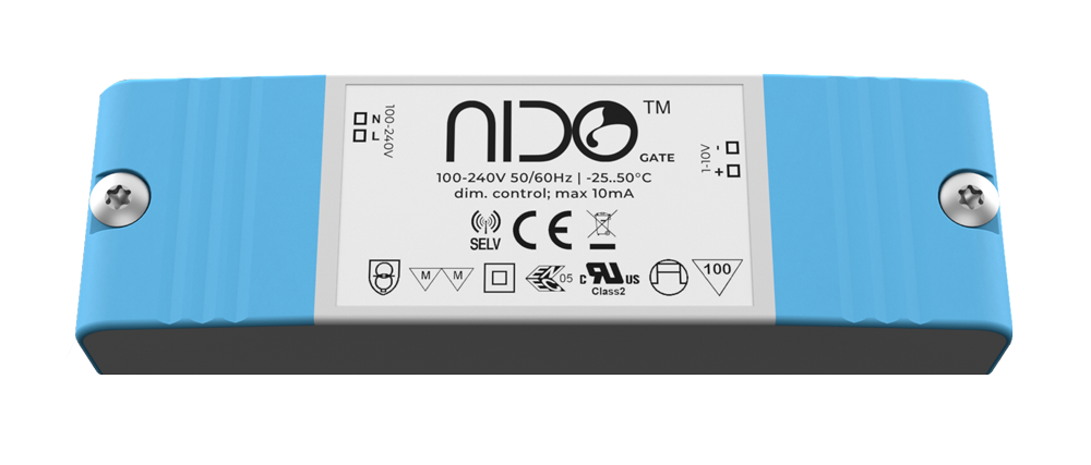 Nido gate allows full control of the felix grow lamp